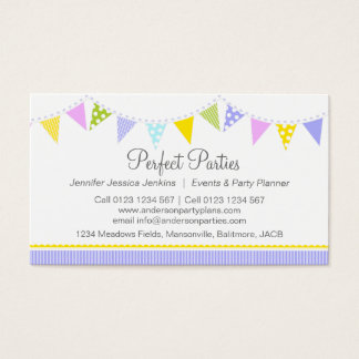 41 Bunting Business Cards and Bunting Business Card