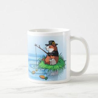 Bunty the Guinea Pig goes Carrot Fishing Coffee Mug