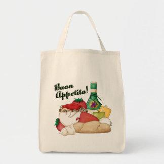 Buon Appetito Canvas Tote Bag