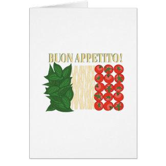 Buon Appetito Card