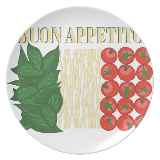 Buon Appetito Dinner Plate