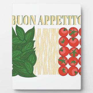 Buon Appetito Photo Plaque