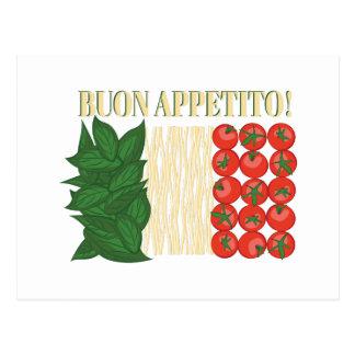 Buon Appetito Postcard