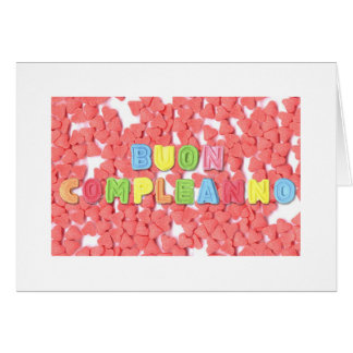 Buon Compleanno (Happy Birthday) Card