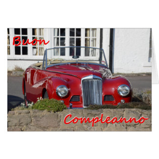 Buon Compleanno - Happy Birthday Greeting Card
