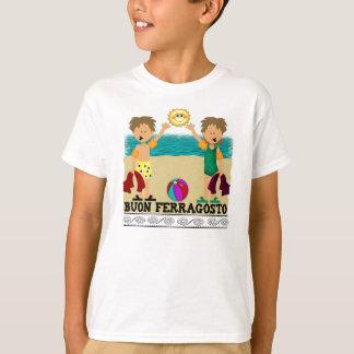 Buon Ferragosto Kids T-Shirt
