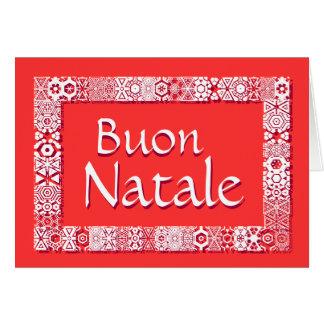 Buon Natale Biglietto Di Auguri Greeting Card