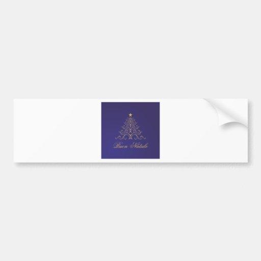 Buon Natale Bumper Sticker