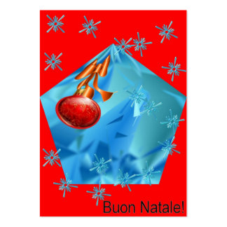 Buon Natale! Pack Of Chubby Business Cards