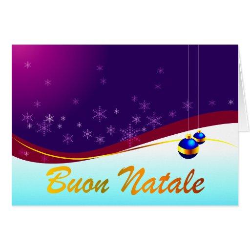 Buon Natale Cards