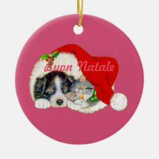 Buon Natale Christmas Ornament Italian