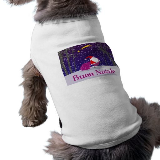 Buon Natale Doggie T-shirt