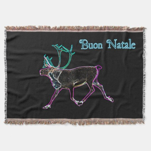 Buon Natale - Electric Caribou Throw