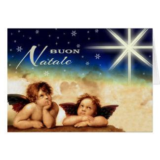 Buon Natale. Fine Art Italian Christmas Cards