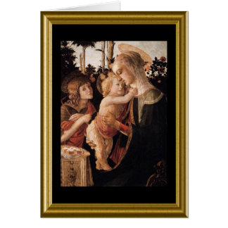 Buon natale - Hail Mary in Italian Card