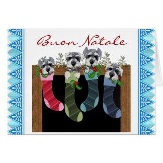 Buon Natale Italian Christmas card