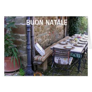 BUON NATALE - ITALIAN CHRISTMAS GREETING CARD