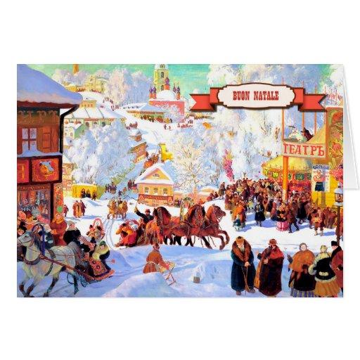 Buon Natale. Italian Christmas Greeting Cards
