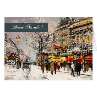Buon Natale Italian Christmas Greeting Cards