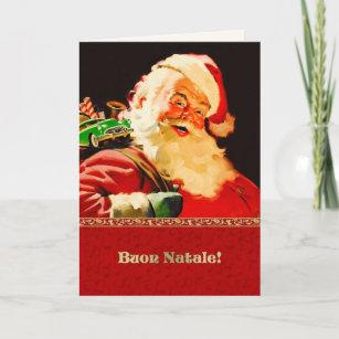 Vintage italian christmas cards zazzle italian customisable christmas cards m4hsunfo