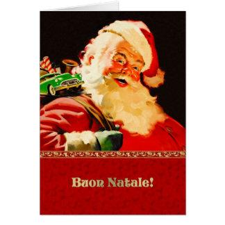 Buon Natale. Italian Customizable Christmas Cards