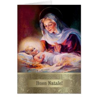 Buon Natale. Italian Fine Art Christmas Cards