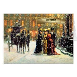 Buon Natale Italian Vintage Style Christmas Cards