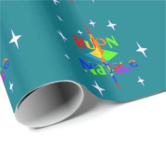 """Buon Natale - """"Merry Christmas"""" Wrapping Paper"""