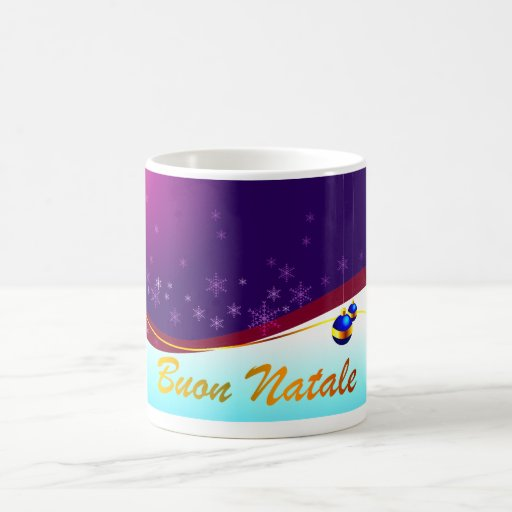 Buon Natale Coffee Mugs
