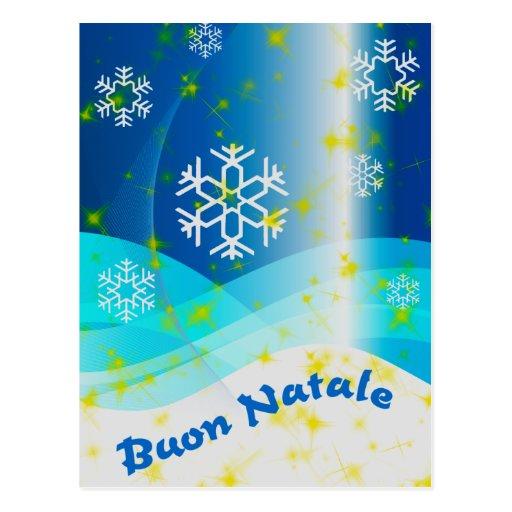 Buon Natale Post Card