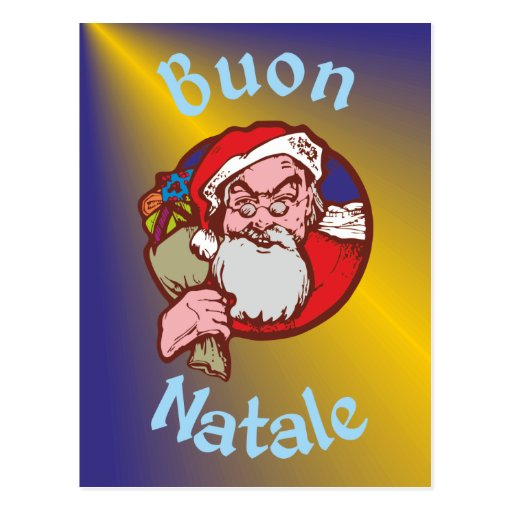 Buon Natale Post Cards