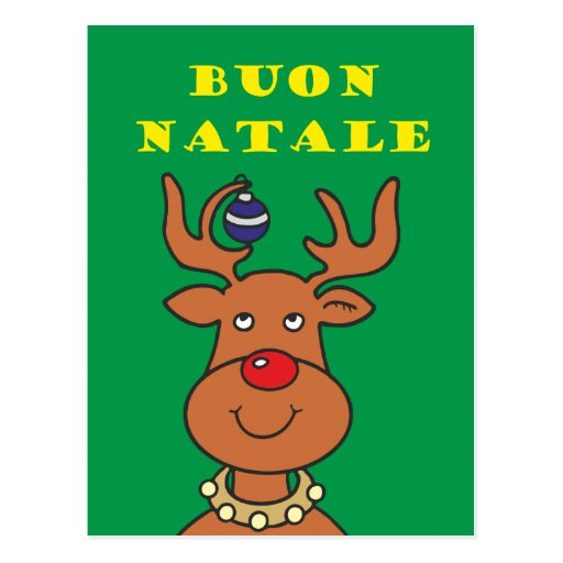 Buon Natale Postcard