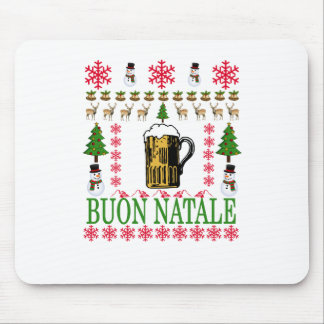 Buon natale T-Shirt '. Mouse Pad