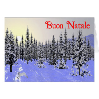 Buon Natale - Winter Solstice Greeting Card