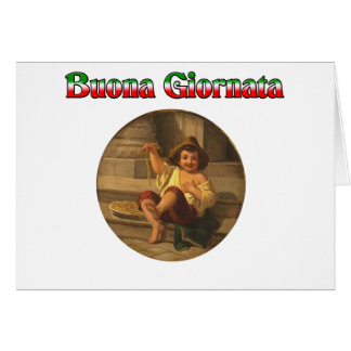 Buona Giornata (Have A Nice Day) Card