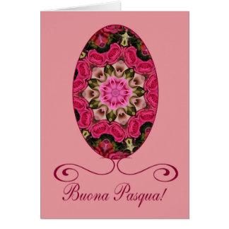Buona Pasqua Italian Happy Easter Card