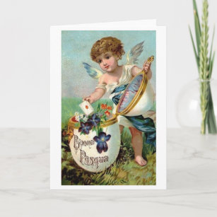 Victorian easter gifts on zazzle au victorian italian easter card negle Choice Image