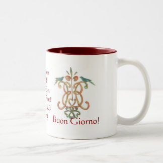 Buongiorno! Two-Tone Coffee Mug