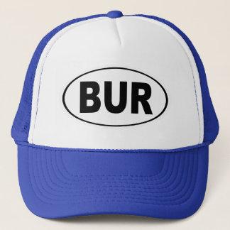 BUR Burlington Massachusetts Trucker Hat