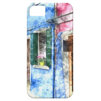 Burano Italy Buildings Barely There iPhone 5 Case