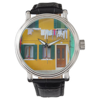 Burano Italy Buildings Watch