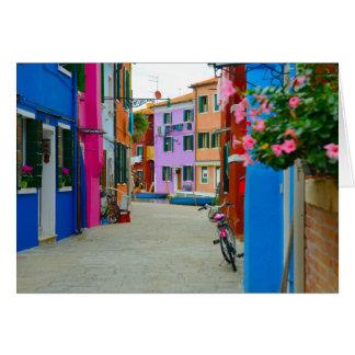 Burano Italy Card