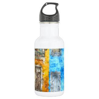 Burano Italy near Venice Italy 532 Ml Water Bottle