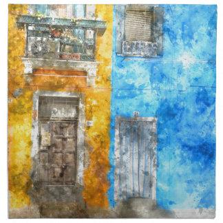 Burano Italy near Venice Italy Cloth Napkin
