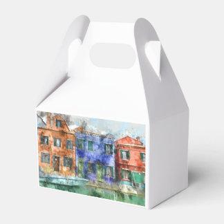 Burano Italy near Venice Italy Favour Box