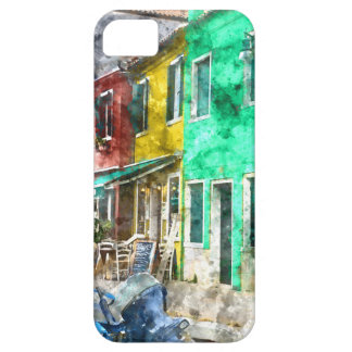 Burano Italy near Venice Italy with traditional co iPhone 5 Cover