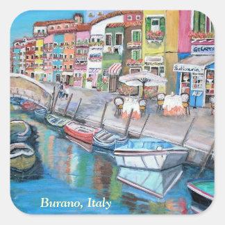 Burano, Venice -  Sticker