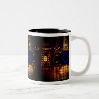 Burbandy by EriQ 11 oz Two-Tone Mug