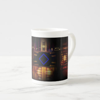 Burbandy Tea Cup