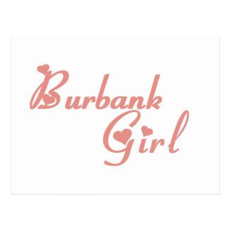 Burbank Girl tee shirts Post Cards